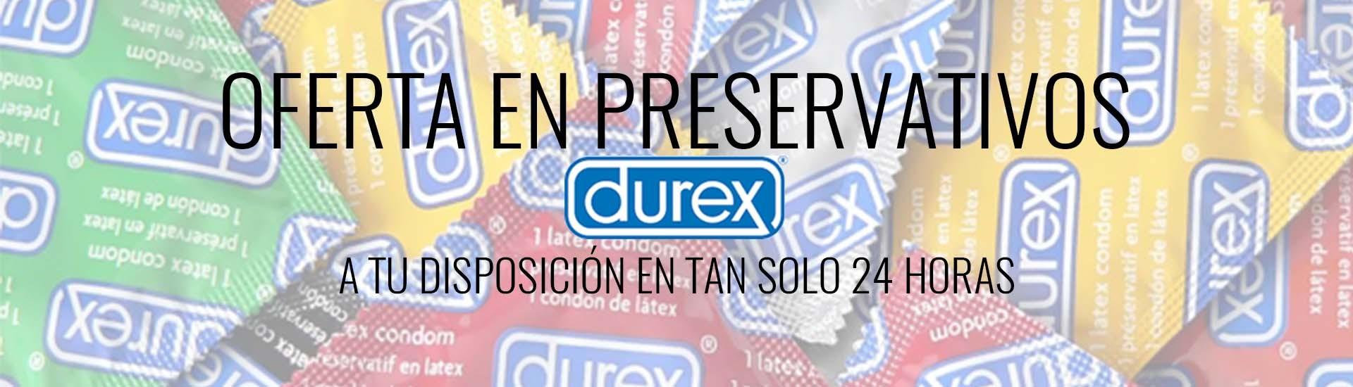 Nuevos artículos Durex en oferta