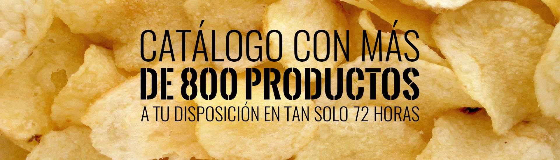 800 productos